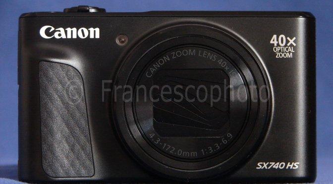 Canon SX740HS: test