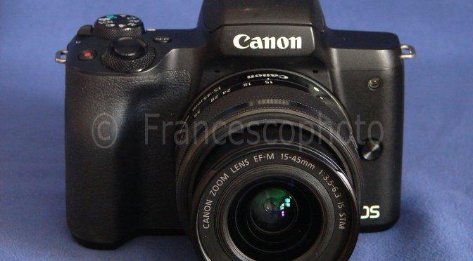 Canon EOS M50: test