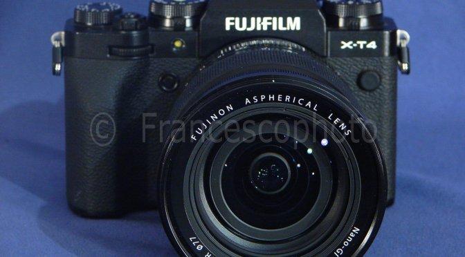 Fujifilm X-T4: test