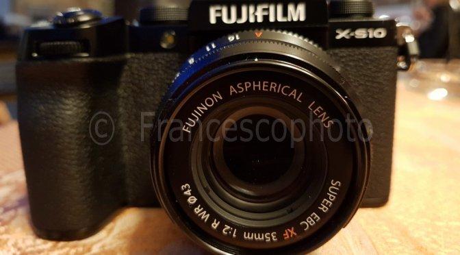 Fujifilm X-S10: impressioni