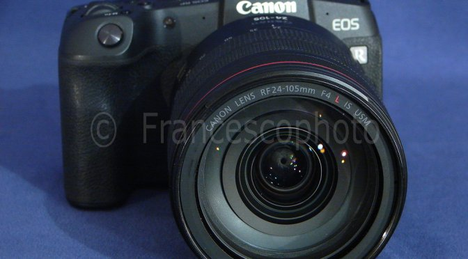 Canon EOS RP: test