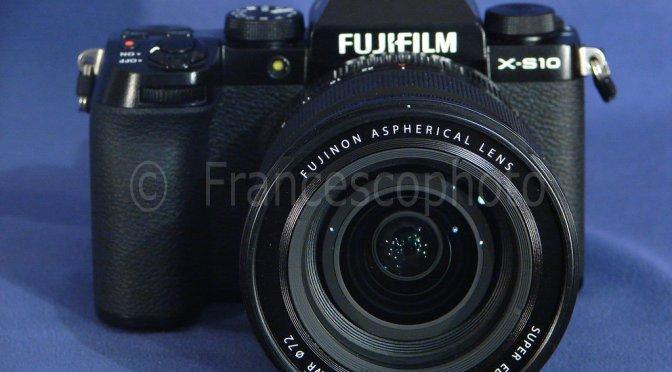 Fujifilm X-S10: test