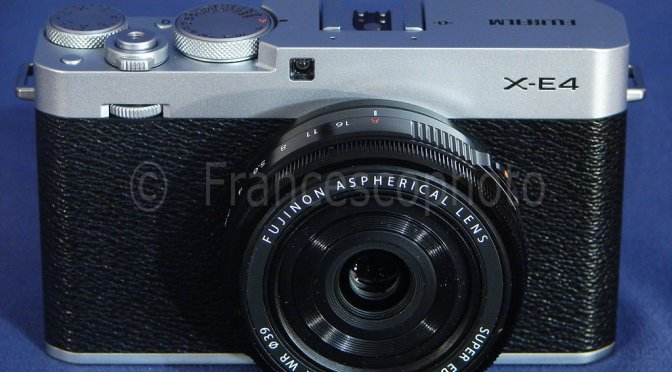 Fujifilm X-E4: test